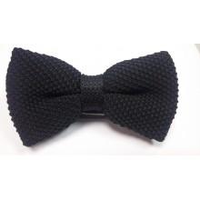 Бабочка для рубашки кэжуал стиль черная